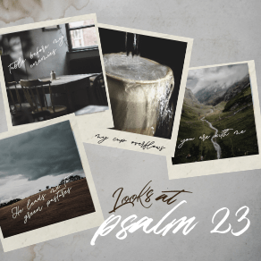 4th Look at Psalm 23