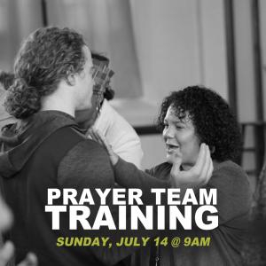 Prayer Team Training