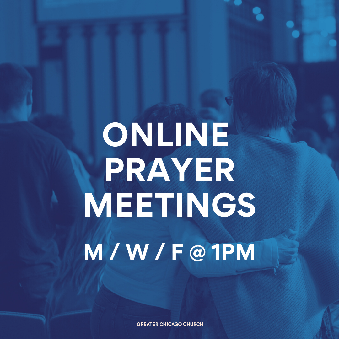 Online prayer meetings 2020