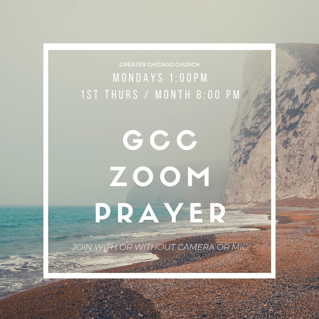 GCC zoom prayer